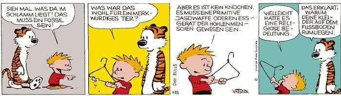 Calvin vom 09.04.2021
