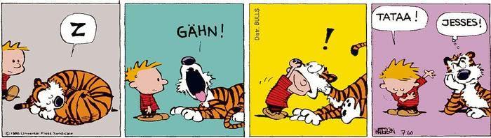 Calvin vom 26.04.2021