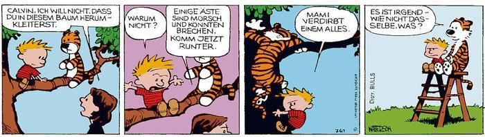 Calvin vom 27.04.2021