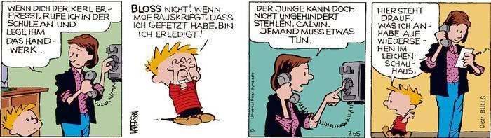 Calvin vom 03.05.2021