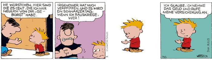 Calvin vom 04.05.2021