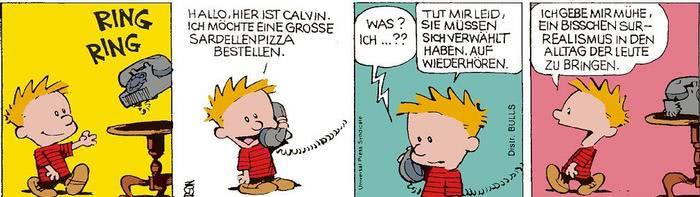 Calvin vom 06.05.2021