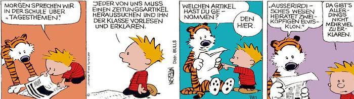 Calvin vom 27.05.2021