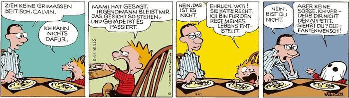 Calvin vom 03.06.2021