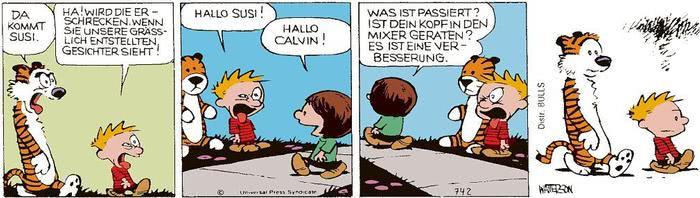 Calvin vom 04.06.2021