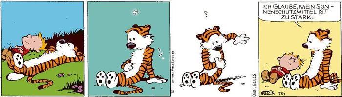 Calvin vom 15.06.2021