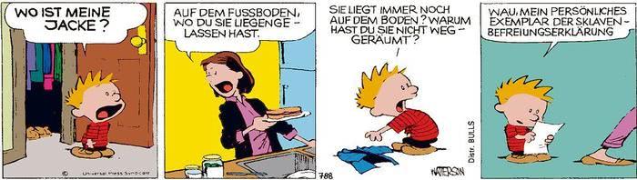 Calvin vom 21.06.2021