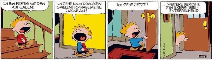 Calvin vom 25.06.2021