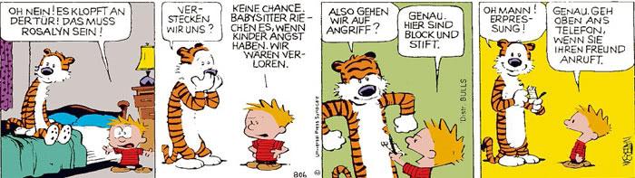 Calvin vom 15.07.2021