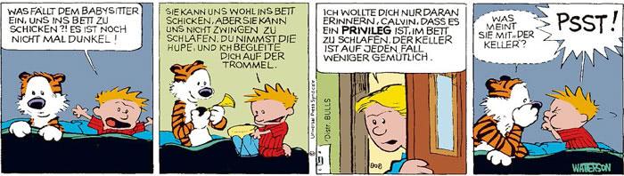 Calvin vom 19.07.2021