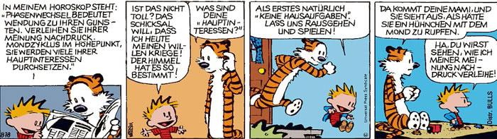 Calvin vom 22.07.2021