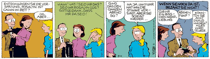 Calvin vom 27.07.2021