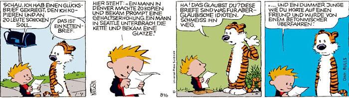 Calvin vom 04.08.2021