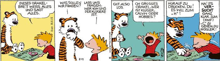 Calvin vom 09.08.2021