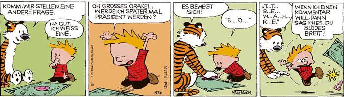 Calvin vom 10.08.2021
