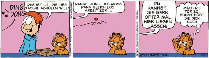 Garfield vom 18.03.2021