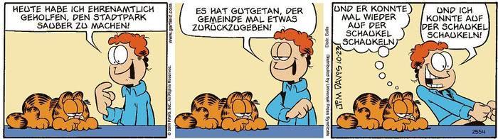 Garfield vom 26.03.2021