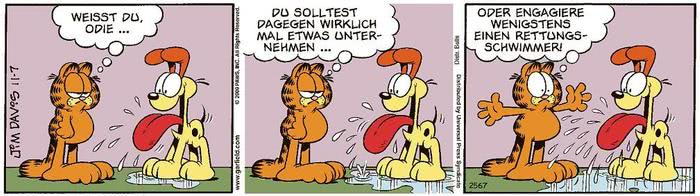 Garfield vom 16.04.2021