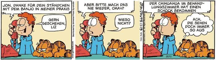 Garfield vom 23.04.2021