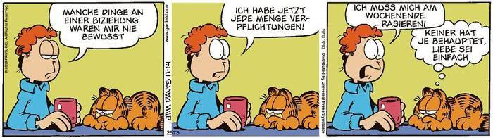 Garfield vom 26.04.2021