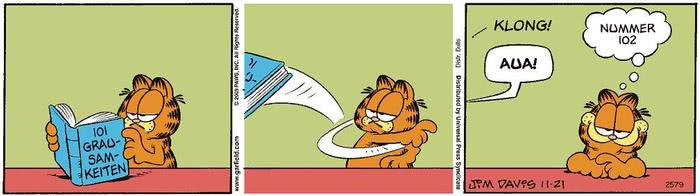 Garfield vom 03.05.2021