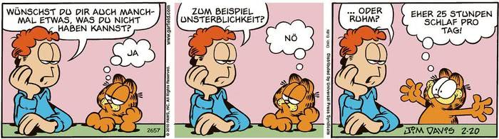 Garfield vom 18.05.2021