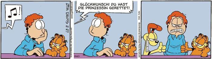 Garfield vom 27.05.2021