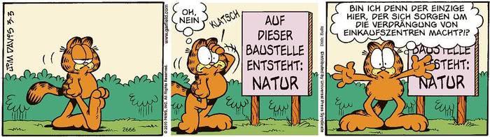 Garfield vom 01.06.2021
