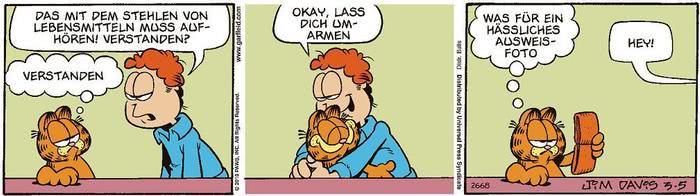 Garfield vom 03.06.2021