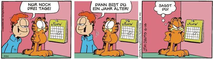 Garfield vom 15.06.2021