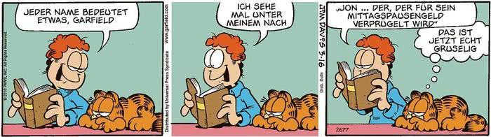 Garfield vom 24.06.2021