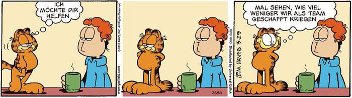 Garfield vom 08.07.2021