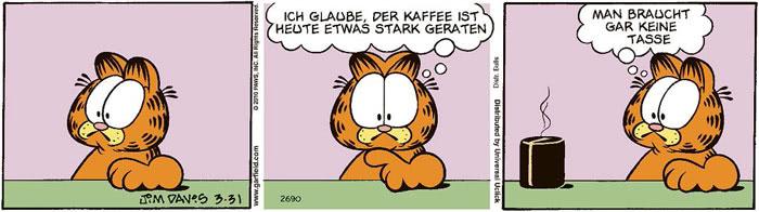 Garfield vom 09.07.2021