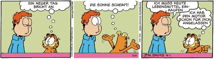 Garfield vom 12.07.2021