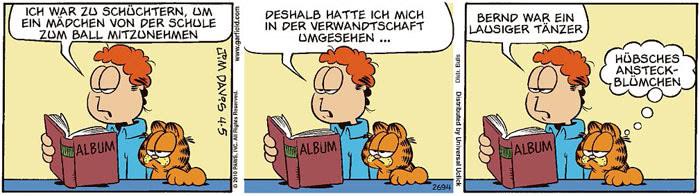 Garfield vom 15.07.2021