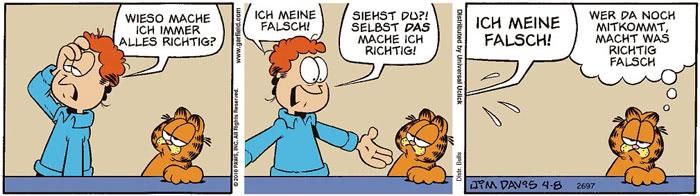 Garfield vom 20.07.2021