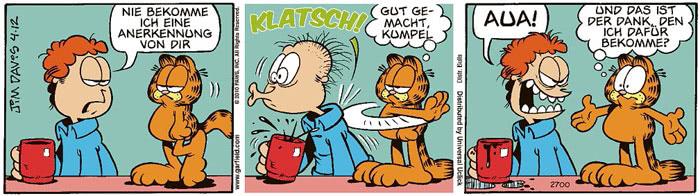 Garfield vom 23.07.2021