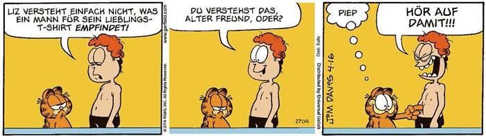 Garfield vom 29.07.2021