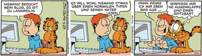 Garfield vom 06.08.2021