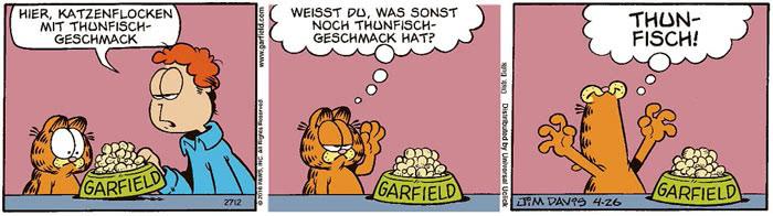 Garfield vom 10.08.2021